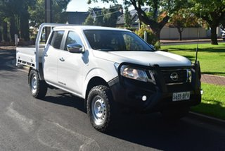 2016 Nissan Navara D23 RX White 6 Speed Manual Utility.