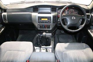 2014 Nissan Patrol GU Series 9 ST (4x4) White 5 Speed Manual Wagon