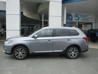 2017 Mitsubishi Outlander ZK MY17 LS (4x4) Grey Continuous Variable Wagon.