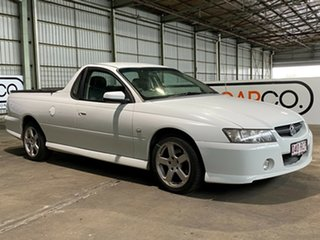 2007 Holden Ute VZ MY06 SV6 White 5 Speed Automatic Utility.