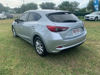 2017 Mazda 3 MAXX Silver 6 Speed Automatic Hatchback
