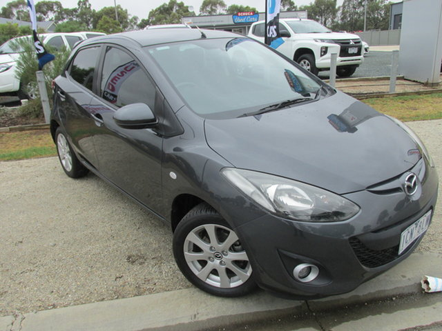 Used Mazda 2 DE10Y2 MY14 Maxx Sport Echuca, 2013 Mazda 2 DE10Y2 MY14 Maxx Sport Grey 4 Speed Automatic Hatchback