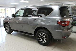 2021 Nissan Patrol Y62 TI-L Gun Metallic 7 Speed Sports Automatic Wagon.