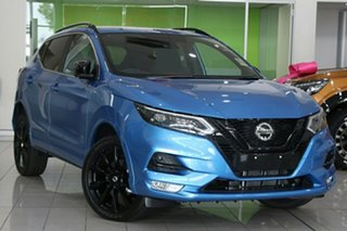 2021 Nissan Qashqai J11 Series 3 MY20 Midnight Edition X-tronic Vivid Blue 1 Speed Constant Variable