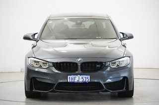 2016 BMW M3 F80 LCI Competition M-DCT Grey 7 Speed Sports Automatic Dual Clutch Sedan.