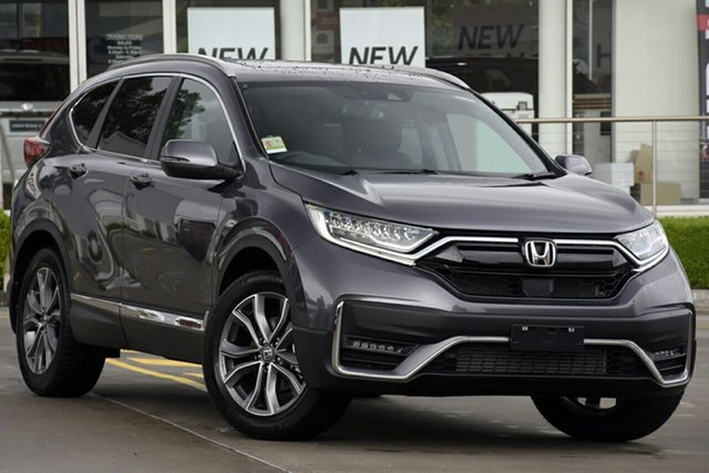 New Honda CR-V RW MY21 VTi 4WD LX AWD Indooroopilly, 2021 Honda CR-V RW MY21 VTi 4WD LX AWD Crystal Black 1 Speed Constant Variable Wagon
