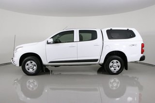 2016 Holden Colorado RG MY16 LS (4x4) White 6 Speed Automatic Crew Cab Pickup