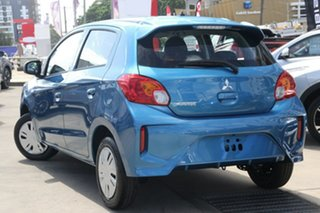 2021 Mitsubishi Mirage LB MY21 ES Cyber Blue Continuous Variable Hatchback.
