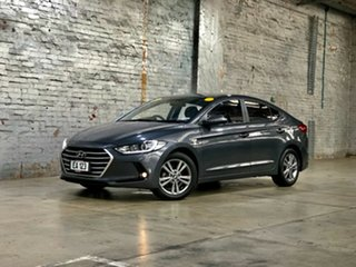 2016 Hyundai Elantra AD MY17 Active Grey 6 Speed Sports Automatic Sedan.