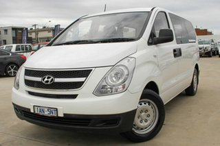 2013 Hyundai iLOAD TQ-V MY13 White 5 Speed Manual Van.
