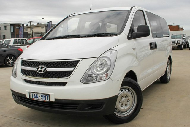 Used Hyundai iLOAD TQ-V MY13 Coburg North, 2013 Hyundai iLOAD TQ-V MY13 White 5 Speed Manual Van