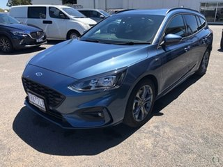 2019 Ford Focus SA 2019.75MY ST-Line Blue 8 Speed Automatic Wagon.