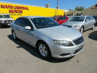 2010 Ford Falcon FG XT Silver 6 Speed Auto Seq Sportshift Sedan.