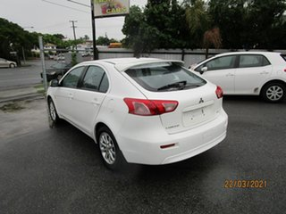 2010 Mitsubishi Lancer CJ MY11 SX Sportback White 5 Speed Manual Hatchback