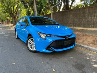 2019 Toyota Corolla ZWE211R Ascent Sport E-CVT Hybrid Blue 10 Speed Constant Variable Hatchback.