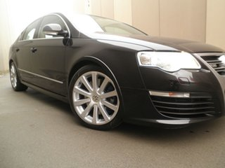 2008 Volkswagen Passat Type 3C MY09 R36 DSG 4MOTION Blue & Black Metallic 6 Speed