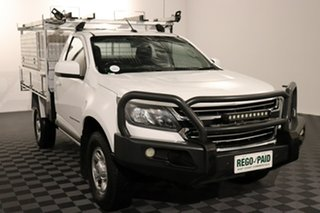 2016 Holden Colorado RG MY16 LS Summit White 6 speed Automatic Cab Chassis.
