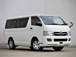 2009 Toyota HiAce KDH201RV DX White Automatic Van.