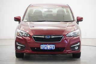 2018 Subaru Impreza G5 MY18 2.0i-L CVT AWD Venetian Red 7 Speed Constant Variable Sedan.
