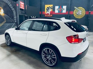 2010 BMW X1 E84 MY11 sDrive18i Steptronic White 6 Speed Sports Automatic Wagon