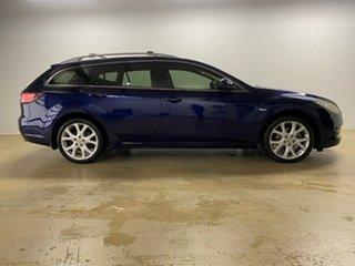 2009 Mazda 6 GH Classic Blue 5 Speed Auto Activematic Wagon.