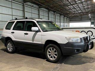 2007 Subaru Forester 79V MY07 X AWD White 4 Speed Automatic Wagon.