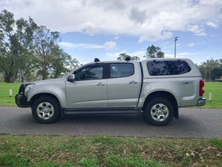 2015 Holden Colorado RG MY16 LTZ Crew Cab Silver 6 Speed Sports Automatic Utility.