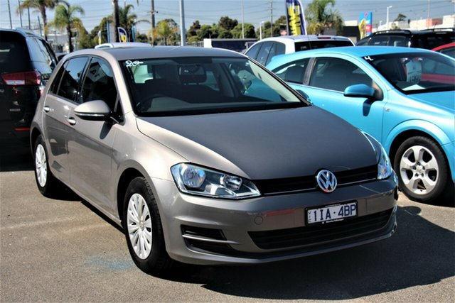 Used Volkswagen Golf VII MY16 92TSI DSG Cheltenham, 2016 Volkswagen Golf VII MY16 92TSI DSG Grey 7 Speed Sports Automatic Dual Clutch Hatchback