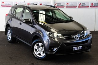 2015 Toyota RAV4 ZSA42R MY14 Upgrade GX (2WD) Graphite Continuous Variable Wagon.