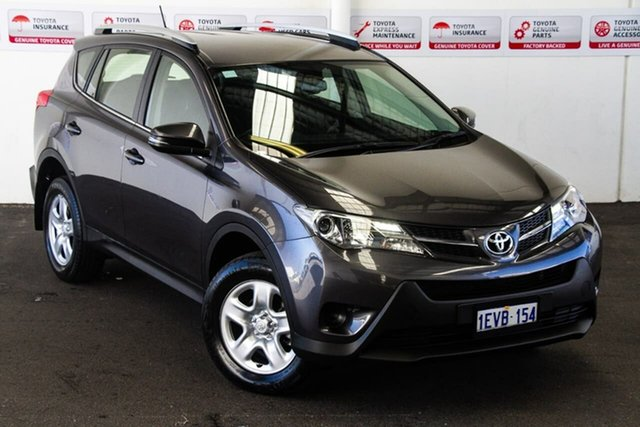 Pre-Owned Toyota RAV4 ZSA42R MY14 Upgrade GX (2WD) Rockingham, 2015 Toyota RAV4 ZSA42R MY14 Upgrade GX (2WD) Graphite Continuous Variable Wagon