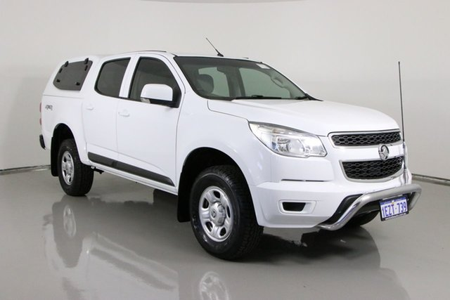 Used Holden Colorado RG MY16 LS (4x4) Bentley, 2016 Holden Colorado RG MY16 LS (4x4) White 6 Speed Automatic Crew Cab Pickup
