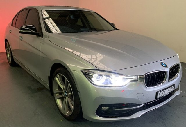 Used BMW 3 Series F30 LCI 320d Sport Line Newcastle West, 2016 BMW 3 Series F30 LCI 320d Sport Line Glacier Silver 8 Speed Sports Automatic Sedan