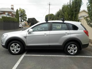 2009 Holden Captiva CG MY09 SX (4x4) Silver 5 Speed Automatic Wagon