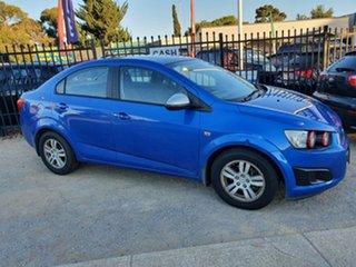 2013 Holden Barina TM MY13 CD Blue 6 Speed Automatic Sedan.