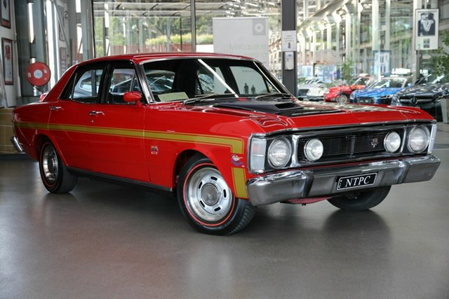 Used Ford Falcon XW GT North Melbourne, 1970 Ford Falcon XW GT Red 4 Speed Manual Sedan