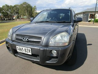 2007 Hyundai Tucson MY07 City SX Grey 4 Speed Automatic Wagon.