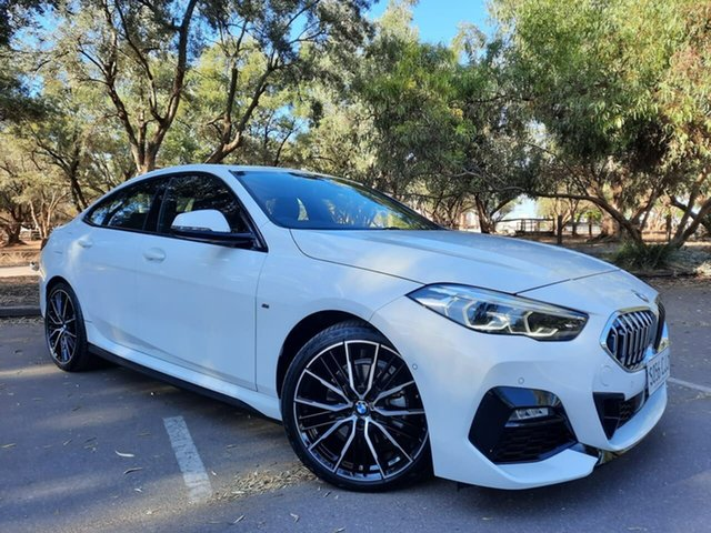 Used BMW 2 Series F44 218i Gran Coupe DCT Steptronic M Sport Adelaide, 2019 BMW 2 Series F44 218i Gran Coupe DCT Steptronic M Sport White 7 Speed