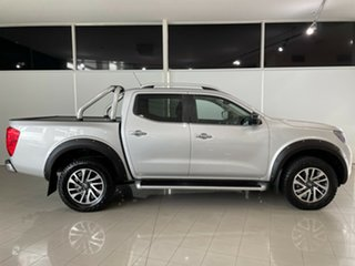 2017 Nissan Navara D23 S2 ST-X Silver, Chrome 7 Speed Sports Automatic Utility