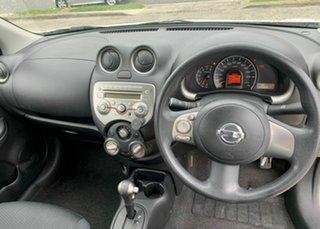 2010 Nissan Micra K13 ST-L White 4 Speed Automatic Hatchback