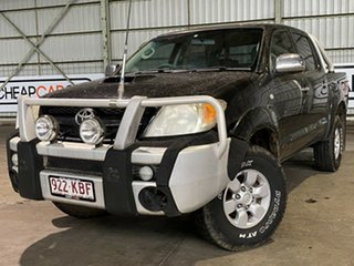 2005 Toyota Hilux KUN26R MY05 SR5 Black 5 Speed Manual Utility.