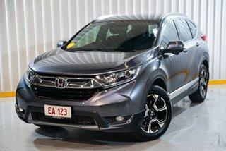 2017 Honda CR-V RW MY18 VTi-S FWD Grey 1 Speed Constant Variable Wagon.