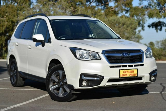 Used Subaru Forester S4 MY17 2.5i-L CVT AWD Enfield, 2017 Subaru Forester S4 MY17 2.5i-L CVT AWD White 6 Speed Constant Variable Wagon