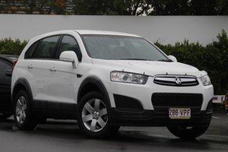 2014 Holden Captiva CG MY15 7 LS White 6 Speed Sports Automatic Wagon.