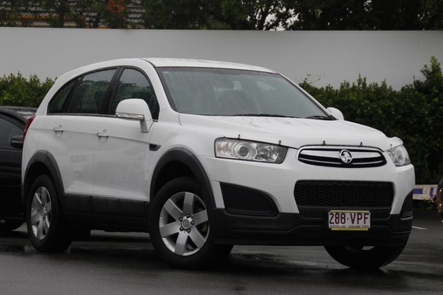 Used Holden Captiva CG MY15 7 LS Mount Gravatt, 2014 Holden Captiva CG MY15 7 LS White 6 Speed Sports Automatic Wagon