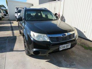 2008 Subaru Forester MY08 X Black 4 Speed Auto Elec Sportshift Wagon.
