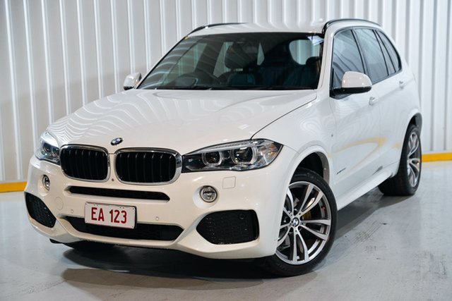 Used BMW X5 F15 xDrive30d Hendra, 2015 BMW X5 F15 xDrive30d White 8 Speed Sports Automatic Wagon