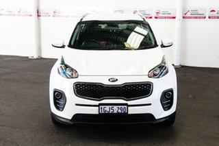 2017 Kia Sportage QL MY18 SI (FWD) White 6 Speed Automatic Wagon.