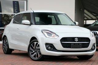 2020 Suzuki Swift AZ Series II GLX Turbo Pure White Pearl 6 Speed Automatic Hatchback.