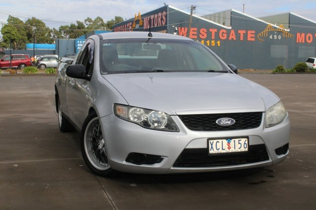 Used Ford Falcon FG (LPG) West Footscray, 2009 Ford Falcon FG (LPG) Silver 4 Speed Auto Seq Sportshift Utility