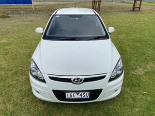 2010 Hyundai i30 FD MY11 SR White 5 Speed Manual Hatchback